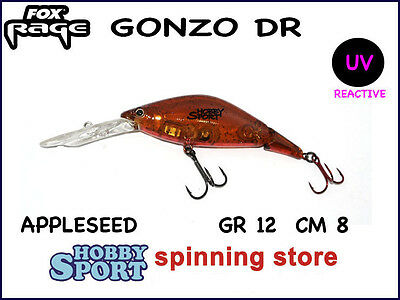 GONZO SR SNODATO  FOX RAGE 8 CM COLORE APPLESEED  10 GR SPINNING