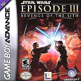 Star Wars Episode Iii Revenge Of The Sith Nintendo Game Boy Advance 2005 For Sale Online Ebay