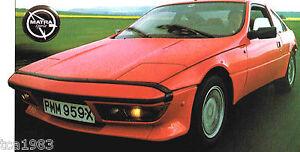 MATRA-MURENA-SPEC-SHEET-Brochure-Pamphlet-Catalog-1983-1982-1981-1980-S