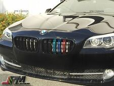 For BMW F10 F11 Grill Black Grille M5 Look Style with M Metal color 2011+