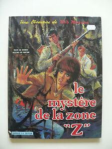 RE-etat-correct-Bob-Morane-6-le-mystere-de-la-zone-034-z-034-1970-Forton-Vernes