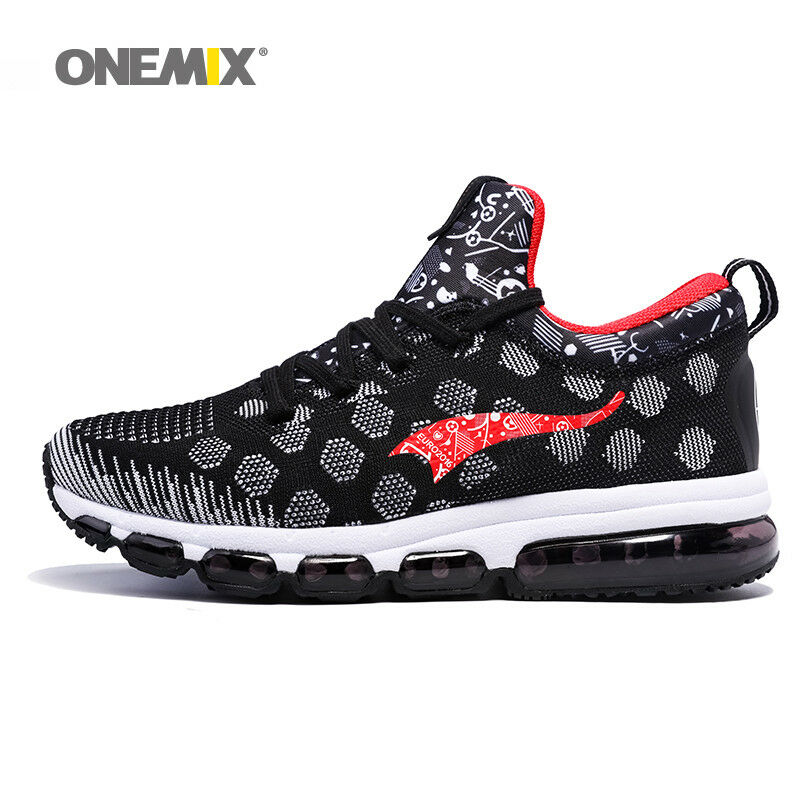 ONEMIX hommes running Chaussures Outdoor Sport Sneakers Damping Male Athletic Chaussures