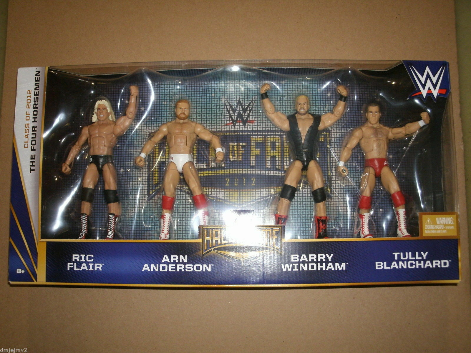 WWE cible Hall of  Fame quatre cavaliers Set Nouveau Mattel Flair Windham Blanchard  garantie de crédit