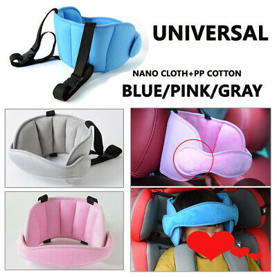 Baby Car Seat Safety Headrest Pillow Sleeping Head Support Pad For Kid Travel