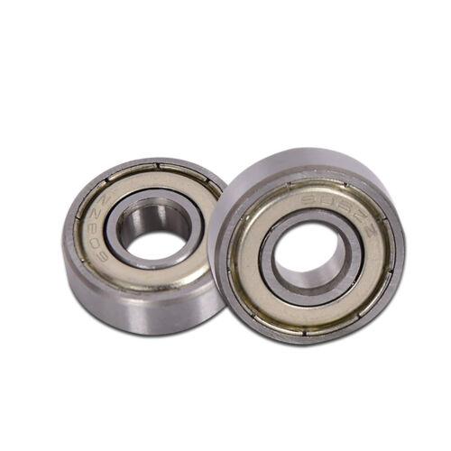 Deep Groove Ball Bearing 606//608//626//628//639//685//695//699ZZ Miniature Bearings