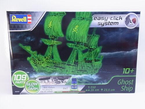 LOT 47020Revell 05435 Ghost Ship glow in the dark 1:150 Click-Bausatz NEU OVP