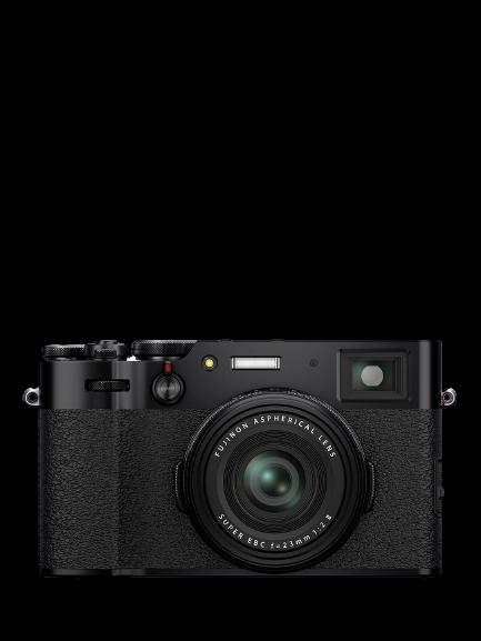 Fujifilm X100V Digital Compact Camera with 23mm Lens, 4K Ultra HD, 26.1MP Black