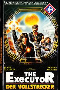 """VHS - FSK 18 - """" The EXECUTOR - Der Vollstrecker """" (1983) - James Clayton -- UFA - Waiblingen, Deutschland - VHS - FSK 18 - """" The EXECUTOR - Der Vollstrecker """" (1983) - James Clayton -- UFA - Waiblingen, Deutschland"""