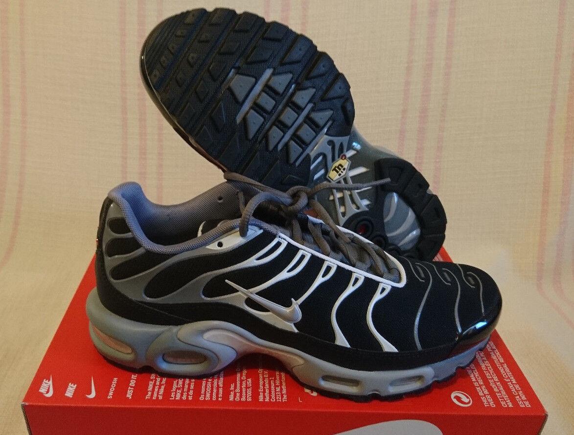 Nike Air Max Plus Negro Talla bajo 9 Cool Gris Plata bajo Talla 852630 0San Antonio Spurs 35254b