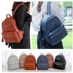 aadb89a94914 Image is loading MONOPOLY-Women-Fashion-Office-Leather-Mini-School-Leisure-