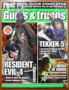 Guides Resident Evil 4 Ico Tekken 5 Moh European Assault Ps2