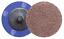 "25-2/"" Roloc A//O Quick Change Sanding Disc 120 Grit"