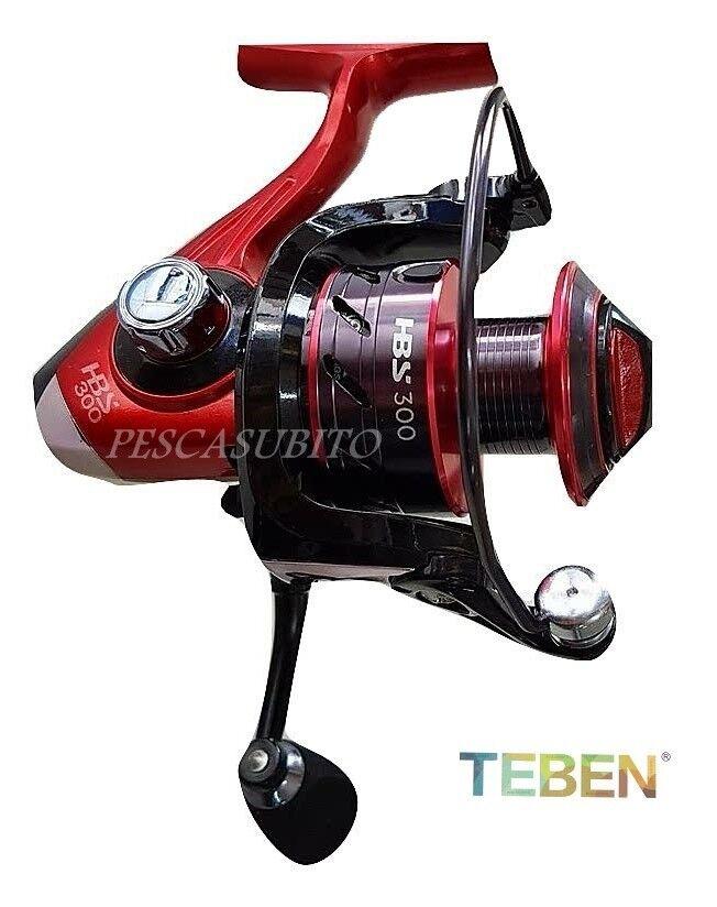Mulinello 10 teben hbs3000 10 Mulinello cuscinetti pesca bolognese spinning tremarella trota 1ebe56