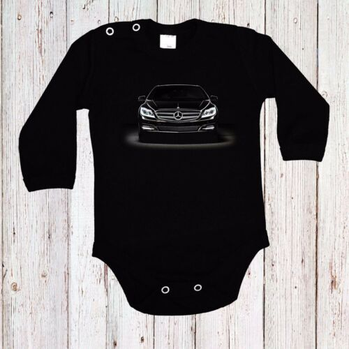 BABY BODY MERCEDES BENZ B/&W 5 AUTO CAR LANGARM//KURZARM BLACK
