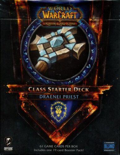 New Sealed Class Starter Deck Draenei Priest Alliance World of Warcraft WoW TCG