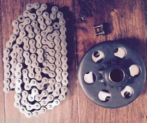 "Go Kart Mini Bike Centrifugal Clutch, 10T, 1041- 3/4"" Bore with Chain #40/41/420"