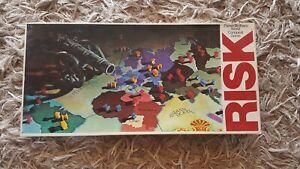 Vintage-RISK-Board-Game-No-44-Parker-Brothers-World-Conquest-1975-1980-COMPLETE