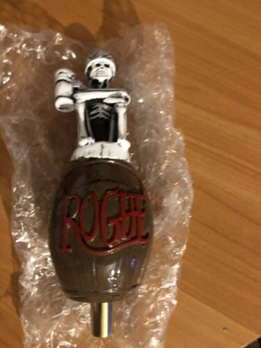 Rare Dead Guy Ale Rogue Figural Tap Handle Mint Condition Beer Collectible