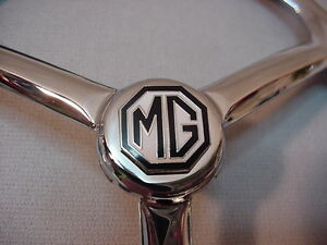 "7"" MG LUCAS SPIDER STYLE CHROME HEADLIGHT COVERS SET OF 2  EASY FIT VERY CLASSY"