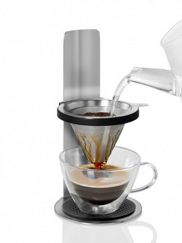 ADHOC caffè pronti MR Brew permanent filter Camping kaffeebrüher in acciaio inox