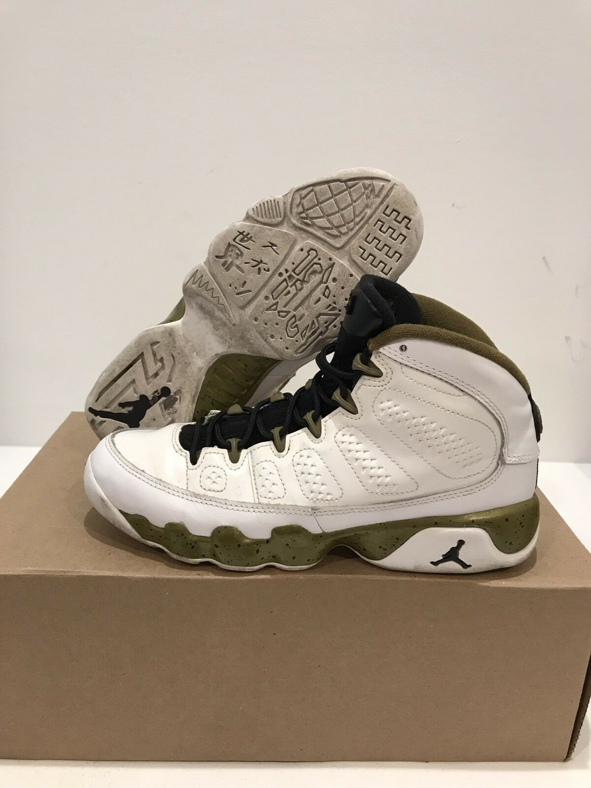 Air Jordan Retro 9 Statue Comfortable Wild casual shoes