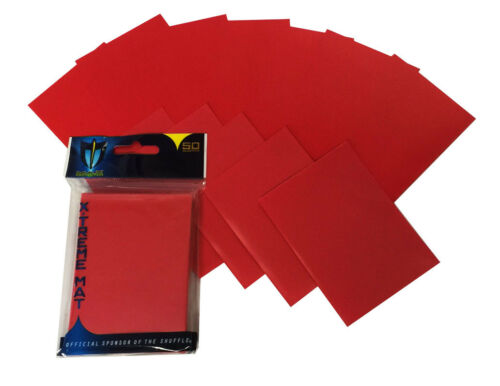 100 Max Pro XTREME DOUBLE Ultra Matte Red Mat Deck Protector Card Sleeves