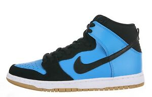 Nike DUNK HIGH PRO SB Blue Hero Black Gum Light Brown Discount (306) Men's Shoes