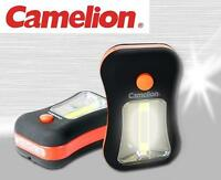 Camelion Sl7280n Cob 200 Lumens Led Work Lamp Torch Flashlight ( 3a, Aaa )