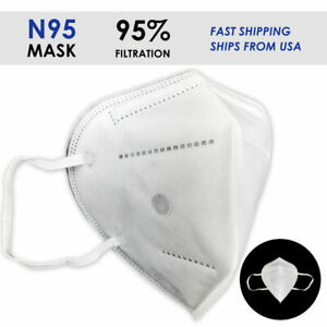 10 PACK individual packs N95 CE cert. Face Protection Masks AUTHORIZED