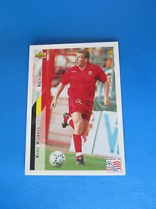 WILMOTS-BELGIQUE-BELGIE-Carte-Card-UPPER-DECK-USA-94-1994-panini