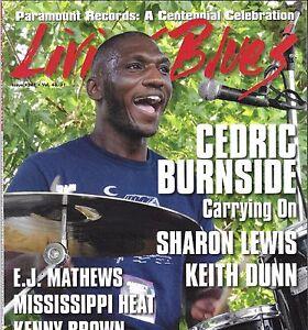 LIVING BLUES MAGAZINE #247 FEB 2017 CEDRIC BURNSIDE SHARON LEWIS KEITH DUNN
