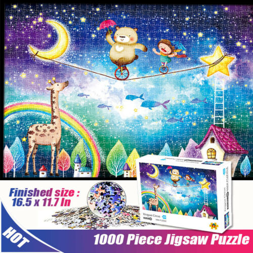 1000Piece Jigsaw Puzzles  Xingyue Circus Adult Decompression Game Puzzle Toys