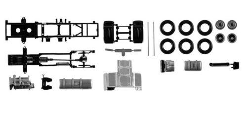 Herpa 084567 Fahrgestell DAF XF Euro 6 ohne  Chassisverkleidung 1:87 NEU in OVP