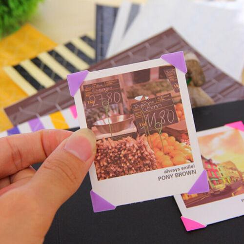 408 pcs Self-adhesive Photo Corner Stickers scrapbook album essential New HC