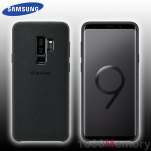 new arrival 50852 83234 Details about GENUINE Samsung Galaxy S9+ S9 Plus SM-G965 Alcantara Back  Cover Case Suede-Like