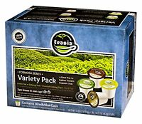 Teasia All Natural Premium Sampler Oolong Tea Pack, 36-count K-cup For Keurig Br on sale