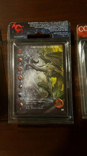Rackham Confrontation Acheron, Gargoyle #2, metal OOP