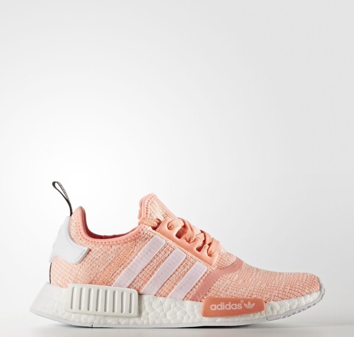 Adidas NMD R1 R1 R1 Mesh  Sun Glow  Pink pink Peach Women's Size 7 BY3034 fda517