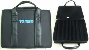 TOMBO HC-2108 Semi Hard Carrying Case for 21/22 Hole Tremolo Harmonica Holds 8pc