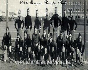 CFL-SRFU-1914-Regina-Rugby-Club-Saskatchewan-Roughriders-Team-Pic-8-X-10-Photo