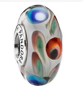 Pandora-Charm-Folklore-Multicolor-Silver-925-ALE-Auth-791614