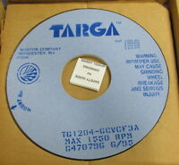 Targa Grinding Wheels 1550 Rpm Max Tg1204-gcvcf3a 2 In Box