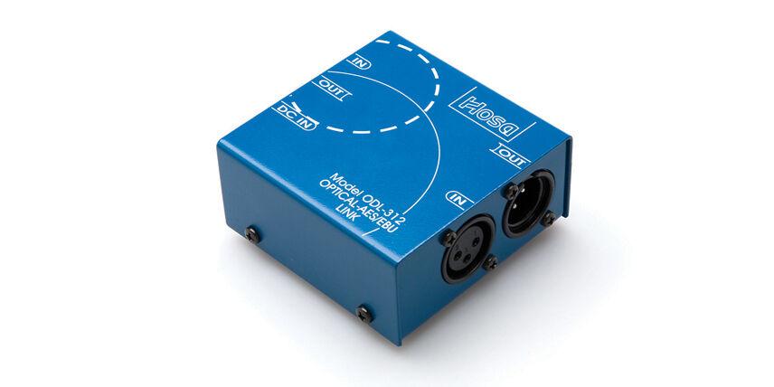 Hosa Digital Audio Interface S PDIF Optical to AES EBU ODL-312 ODL312
