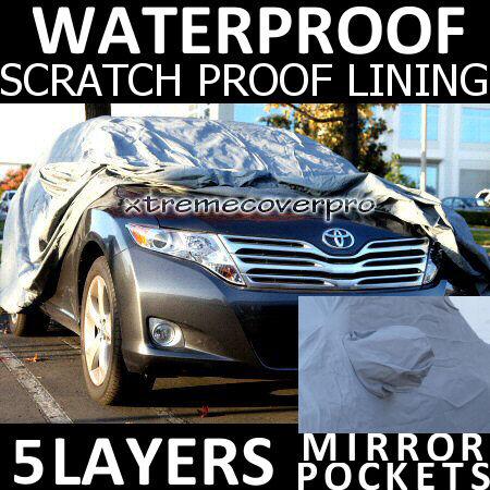 2011 LEXUS GX460 5LAYERS WATERPROOF CAR COVER w//MirrorPocket