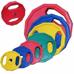 Hantelscheiben-Gewichtsscheiben-Stahl-Gummibeschichtung-verschiedene-Gewichte