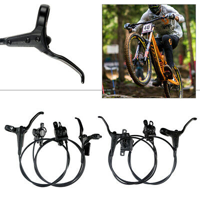 Hydraulic Disc Brakes Oil Disc For Mountain Bike MTB Cycling Front /& Rear Set