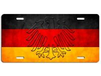 German Flag License Plate - Germany Eagle Vanity Auto Tag Car Truck Deutschland