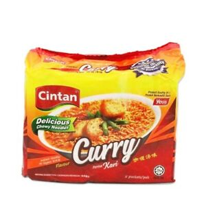 Malaysian-Famous-Cintan-Instant-Noodles-Curry-Flavour-76g-x-5