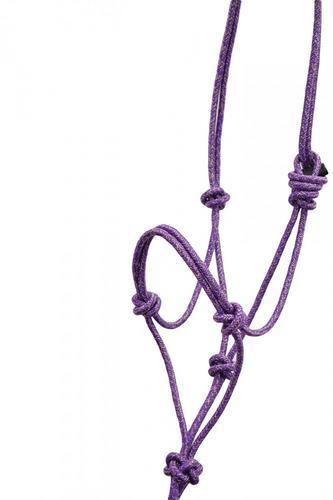 Equisky paillettes Corde Dos Nu avec la formation noeuds sur Muserolle Ajustement réglable