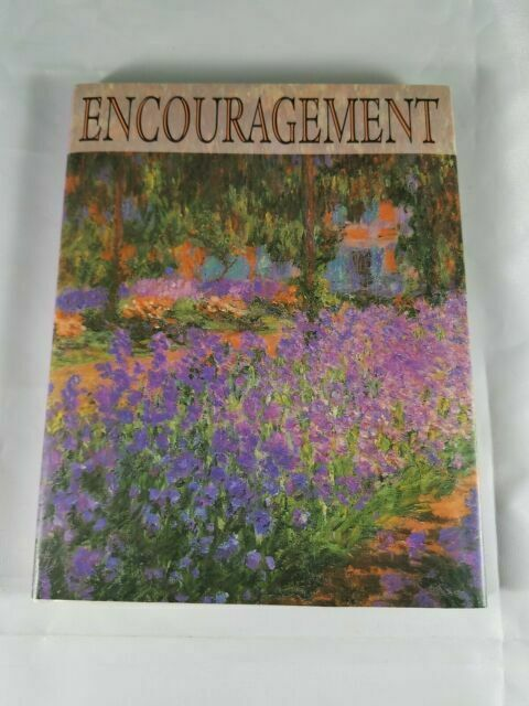 Small Keepsake Book ENCOURAGEMENT by Various Writers Hardcover Uplifting Thought